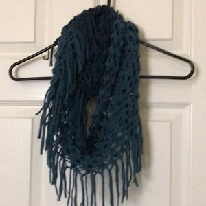 Small ombré infinity scarf
